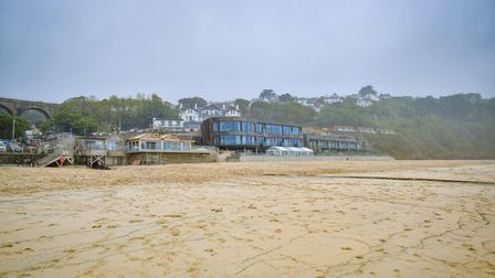The Carbis Bay hotel ahead of the G7 summit in the Cornish village.Picture date: Saturday June 5, 20