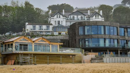 The Carbis Bay hotel ahead of the G7 summit in the Cornish village. Picture date: Saturday June 5, 2