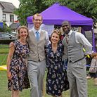 There was live singing and dancing at the Brampton fete on Saturday.