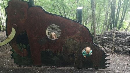 On the trail of mammoths at Celtic Harmony.