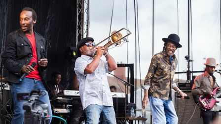 Aswad performed at LGC Live