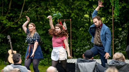 Half Cut Theatre, whose productions have included Twelfth Night (pictured) are bringing a production