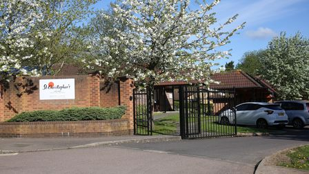 St Christopher's Care Home in Drakes Way, Hatfield.