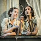 The Two Character Play, Kate O'Flynn, Zubin Varla at Hampstead Theatre