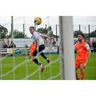 Ben Whitehead nets Weston AFC a 93rd minute equaliser against Hendon