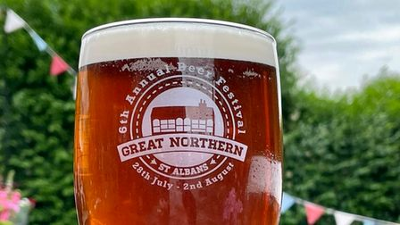 The Great Northern Pub & Kitchen in St Albans will be holding its beer festival from July 30.