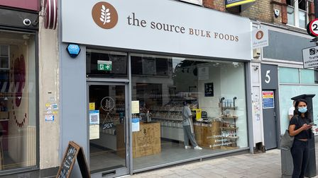 The Source Bulk Foods, based at no.3 on the Broadway