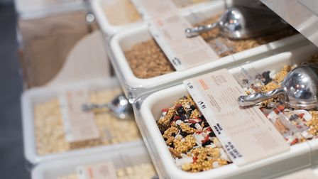 The health store aims for zero waste