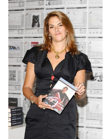 Tracey Emin launches her pop up shop Emin International and signs copies of her book My Life In A Co