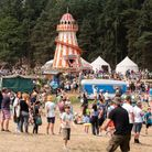 The children's area at Latitude was full of fun for all the family. Picture: Sarah Lucy Brown