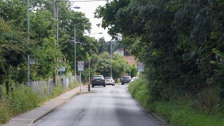 West End in Costessey where some speed cameras will be going up. Picture: Danielle Booden