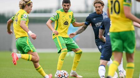 Pierre Lees-Melou caught the eye in Norwich City's 2-0 friendly win over Huddersfield Town