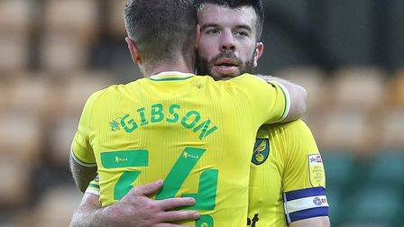 Ben Gibson and Grant Hanley are forming a good partnership at the back Picture: Paul Chesterton/Focu