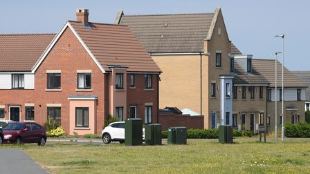 Houses on Queens Hill estate in Costessey. Picture: Danielle Booden