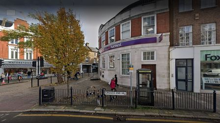 The Natwest bank in Crouch End Hill