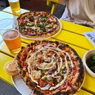 ACE pizza's at Mare Street's Five Point's taproom.
