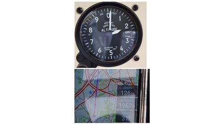 flying watch and gps image