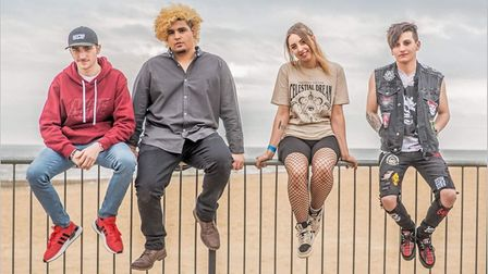 Scarlett, the band, publicity photo