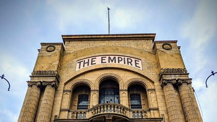 The front of the Empire