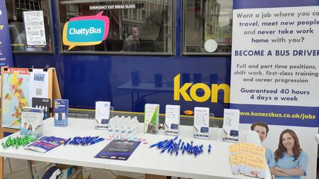 Konectbushosteda 'Meet for aMardle' event in Norwich for Norfolk Day