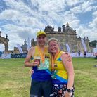 Robin and Dette Newby of St Albans Striders