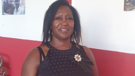 Monica Saunders helped to organise Pastor Morris's funeral service.
