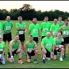 Harold Wood Runners at the ELVIS race in Raphael's Park