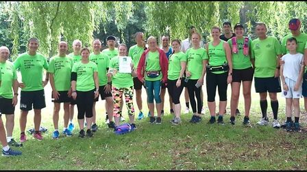 Harold Wood runners out at a parkrun
