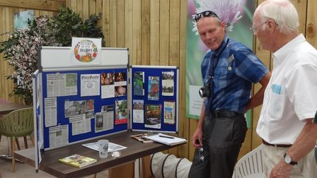 Ottery in Bloom's entryis judged