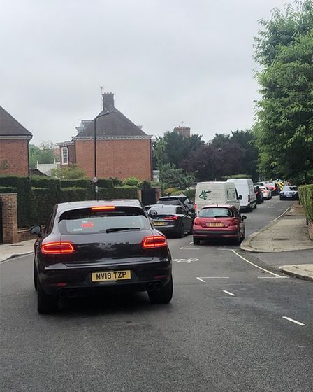 Huge queues in Hampstead after Thames Water's diversion on Finchley Road