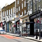 Shops on Haverstock Hill