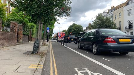 A petition has launched about traffic on Liverpool Road