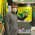 Comedian Rhod Gilbert visited On The Stall City in Norwich Market on Tuesday, July 27.