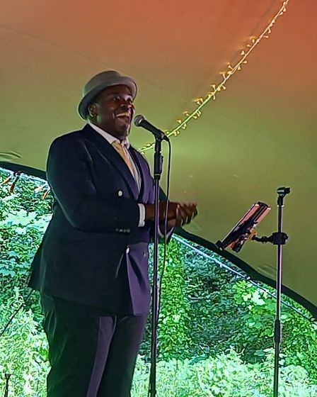 Live at the Quarry.Marvin Muoneke image.credit Culture Weston