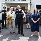 the group with chief constable Shaun Sawyer in Torquay