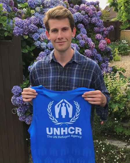 Joseph Griffiths is running a hundred half marathons for charity.