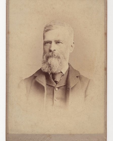 Stephen Gillam's ancestorJohn Truscott, who was himself a GP, pictured in 1882.