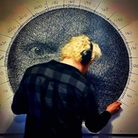 Street artist Perspicere creates photorealistic portraits and 3-dimensional installations using sewing thread.