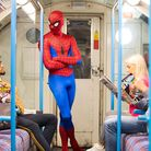 EMBARGOED TO 0001 WEDNESDAY OCTOBER 9 EDITORIAL USE ONLY ???Spider-Man??? helps to announce that hun