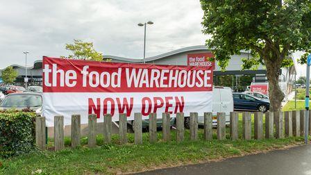 The Food Warehouse opened on July 27.