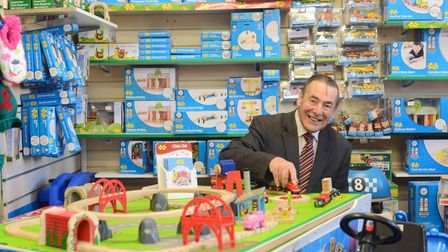 At the K Hardware store in Cromer is owner Paul Kirkham. Picture: Ian Burt