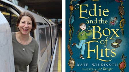 Kate Wilkinson is author ofEdie and the Box of Flits