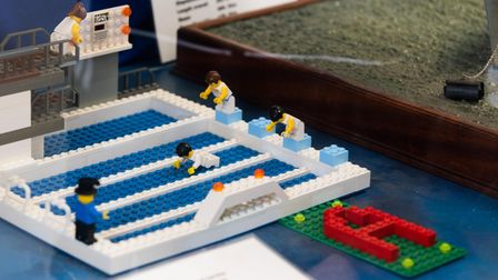 Felixstowe Museum have created an olympic lego trail for children this summer. Picture: Sarah Lucy