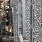 Contractors undertake works at a London property
