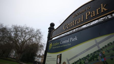 Central Park in East Ham
