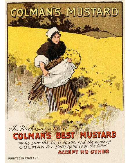 Colman's is one of many famous brands to have come from Norwich