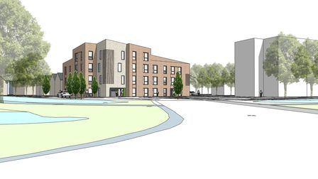 Work on the 150 homes in Bibb Way, Ipswich, could start next year