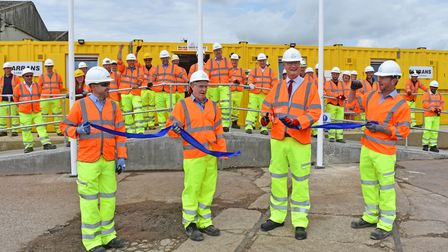 Officesfor Gull Wing project staff in Lowestoft were formally opened.