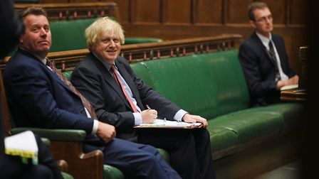 CHAOTIC: Boris Johnson and his government's inadequate response to the pandemic has served the count