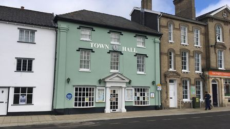 Attleborough town hall. Picture: Archant